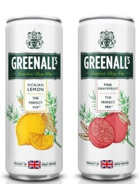 Greenall's Gin SIcilian Lemon – Wild Berry